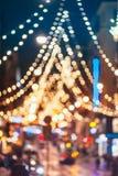 El Año Nuevo Boke enciende la decoración del árbol de navidad de Navidad y festivo Fotos de archivo