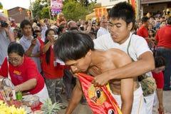 El Año Nuevo chino el 14 de febrero de 2010 Imágenes de archivo libres de regalías