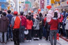 El Año Nuevo chino, el festival de linterna, aduanas populares taiwanesas, bendiciendo los rituales y los desfiles, frígidos esco Fotografía de archivo libre de regalías