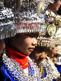 El Año Nuevo de Hmong Fotos de archivo libres de regalías