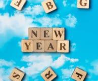 El Año Nuevo de la palabra Foto de archivo libre de regalías
