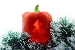 El Año Nuevo de la pimienta búlgara Fotografía de archivo