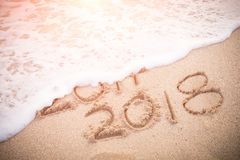 El Año Nuevo es concepto que viene Fotos de archivo libres de regalías