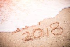 El Año Nuevo es concepto que viene Imagen de archivo