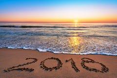 El Año Nuevo 2018 es concepto que viene Foto de archivo libre de regalías