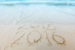 El Año Nuevo 2016 es concepto que viene Fotos de archivo libres de regalías