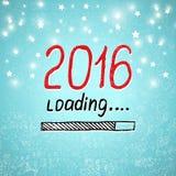 El Año Nuevo está cargando Concepto del día de fiesta Vector Foto de archivo libre de regalías