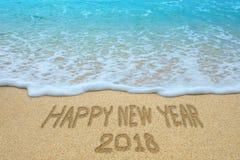 El Año Nuevo 2018 está viniendo Imágenes de archivo libres de regalías
