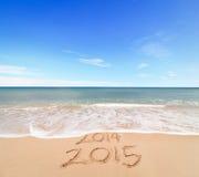 El Año Nuevo 2015 está viniendo Foto de archivo libre de regalías