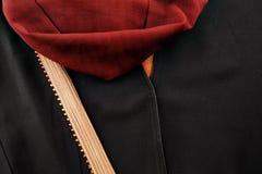 El abaya es la capa externa como la ropa llevada por las mujeres musulmanes Fotos de archivo