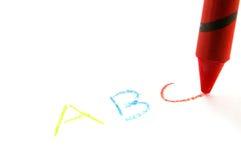 El ABCs Fotos de archivo