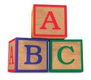 El ABCs Foto de archivo