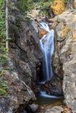 El abismo cae Rocky Mountain Park Foto de archivo libre de regalías