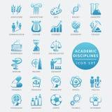 El Academic disciplina el icono Fotografía de archivo libre de regalías