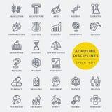 El Academic disciplina el icono Imagenes de archivo