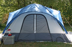 El acampar? Fotografía de archivo