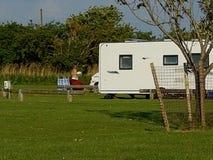 El acampar en el Reino Unido Imagen de archivo libre de regalías