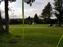 El acampar en el Reino Unido Imagen de archivo