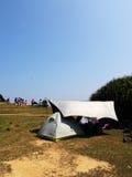 El acampar en Tap Mun Imagenes de archivo