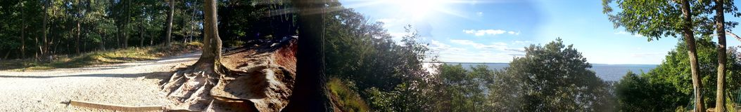 El acantilado Foto de archivo