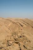 El acantilado del cráter Foto de archivo