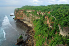 El acantilado en Uluwatu Bali Fotografía de archivo libre de regalías
