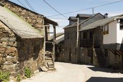 El Acebo cityscape in Castilla y Leon Royalty Free Stock Image