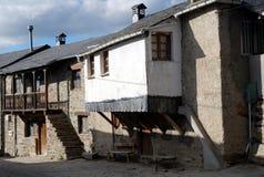 EL Acebo de la aldea Fotos de archivo