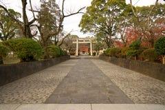 El acercamiento a Fujisan Hongu Sengen Taisha imagen de archivo