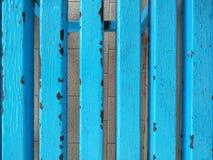 El acero de tierra se pinta azul Imagen de archivo