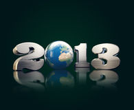El acero duro refresca 2013 con el globo agradable Foto de archivo