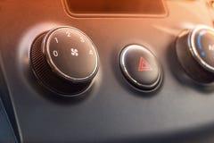 El acondicionador de aire del coche Imagen de archivo