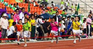 El acontecimiento del día del deporte foto de archivo