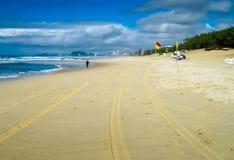 El activar en el Gold Coast Foto de archivo