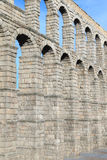 El acueducto antiguo famoso en Segovia, Castilla y León Imagen de archivo libre de regalías