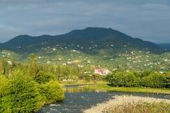 El acuerdo de la montaña cerca de Batumi, Georgia Imágenes de archivo libres de regalías