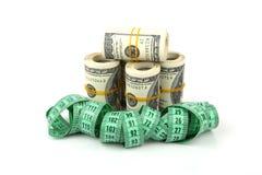 El adelgazar para el dinero Foto de archivo libre de regalías