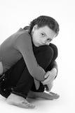El adolescente de la muchacha Foto de archivo