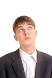 El adolescente está pensando Fotografía de archivo libre de regalías