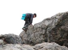 El adolescente que sube para arriba oscila Imagen de archivo