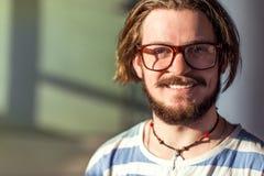 El adolescente sonriente Fotos de archivo