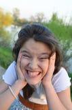 El adolescente subrayó Fotos de archivo libres de regalías