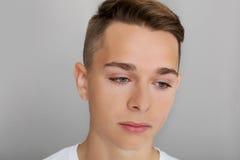 El adolescente triste Fotografía de archivo libre de regalías