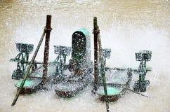 El aerador para agrega el oxígeno al agua Foto de archivo libre de regalías