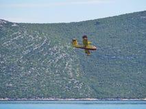 El aero- avión del guardia del fuego Imagen de archivo libre de regalías