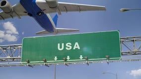 El aeroplano saca los E.E.U.U. metrajes