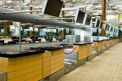 El aeropuerto controla adentro contradice Imagen de archivo libre de regalías