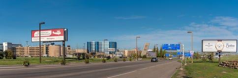 El aeropuerto internacional principal de Calgary imagen de archivo