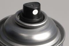 El aerosol puede inclinar Imagenes de archivo