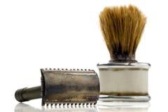 El afeitar Fotos de archivo